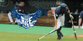 Rice Owls Baseball use BatW8z™ – Baseball-shaped batting weights