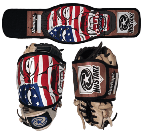 GluvRapz™ - BASEBALL GLOVE WRAPS - KEEP YOUR GLOVE IN SHAPE - NUSTARZ