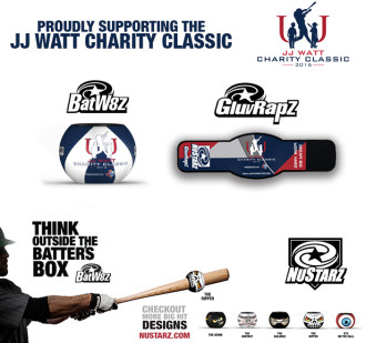 NuStarz sponsors JJ Watt Charity Classic Softball Game